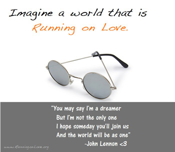 Running on Love the Charity